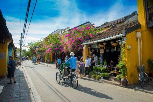 Street in Hoi Ann